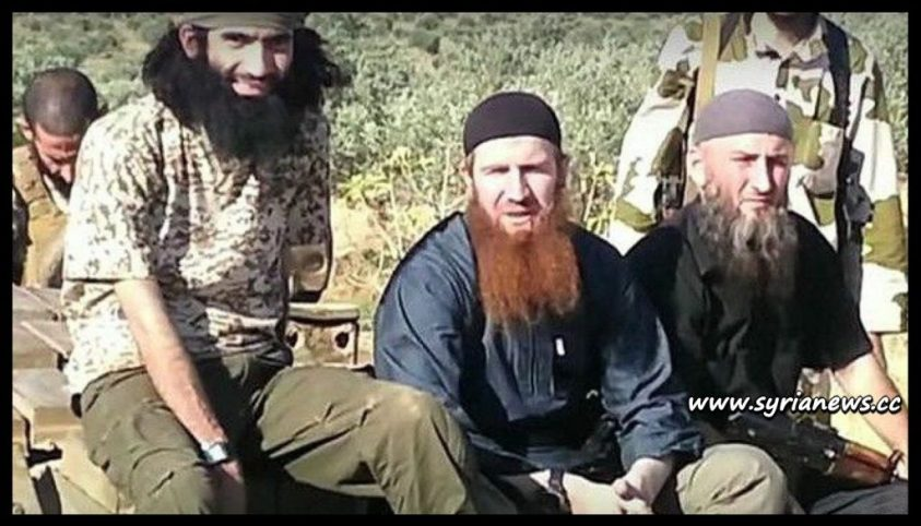 image-Chechen Terrorists in Syria leading Syrian Civil War