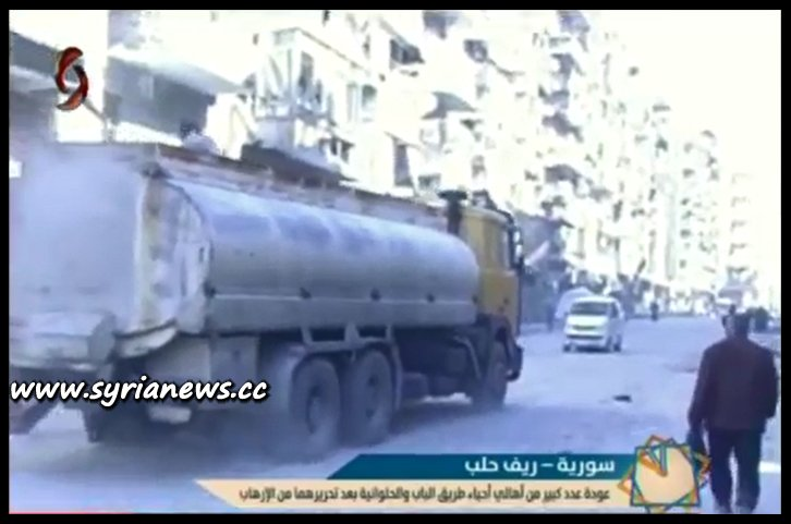 image-Families Returning to their Homes in Aleppo Eastern District