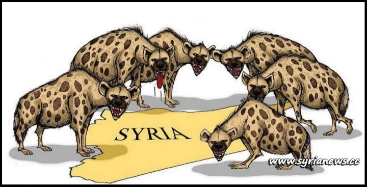 image-Hyenas attacking Syria