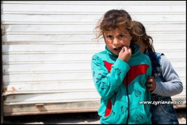 image-Kids in Jibreen Camp for refugees from Eastern Aleppo whose families fled the 'Moderate Rebels'