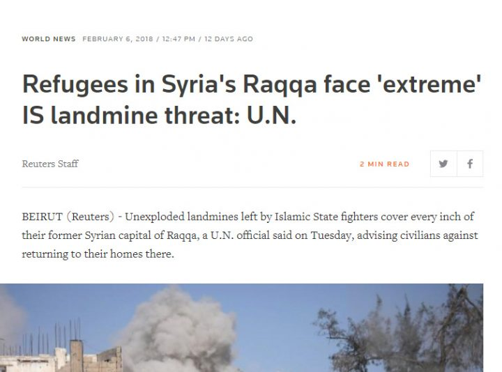 un and merc msm tyring to strat depopulate syria
