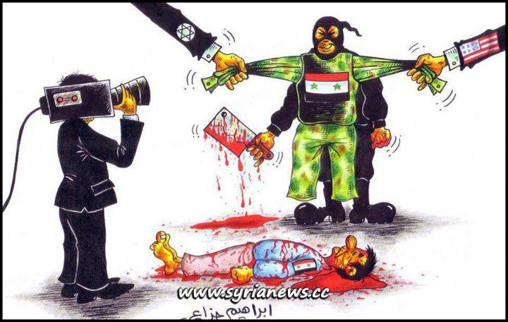 Ibrahim Jazzaa on Western Mainstream Media Lies, newsweek, washington post, new york times, the times, bbc, cnn, foxnews, france 24, the guardian