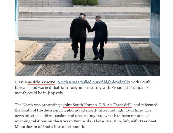 trump and north korea
