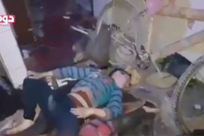 Mass murder, not chemical weapons in Douma