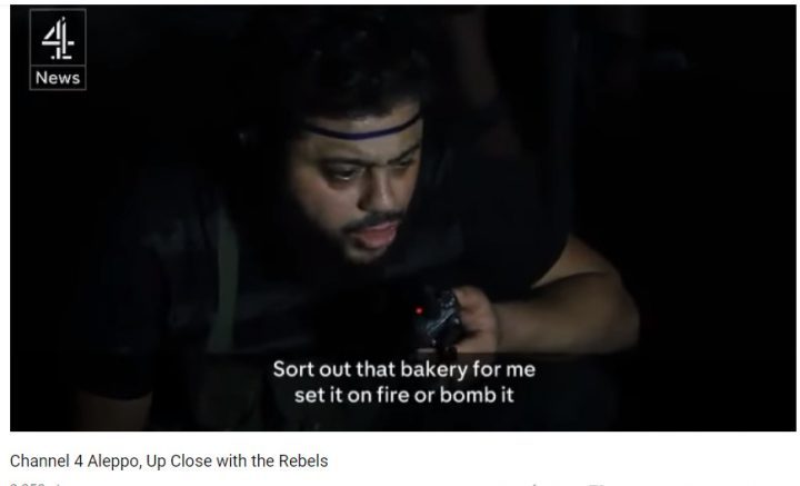 Terrorists call for bombing bakery.