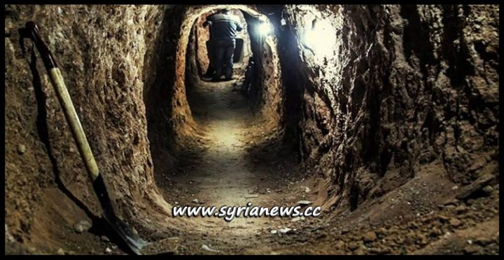 Tunnels found by SAA in Darayya South of Damascus - Explosions Heard