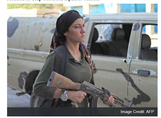 NATO supported Kurdish terrorist