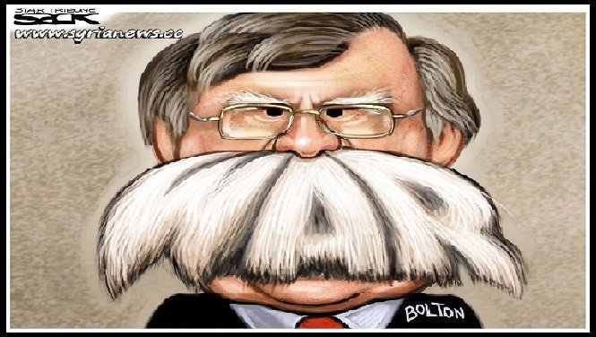 USA John Bolton War Crazy - swamp - deep state - Trump
