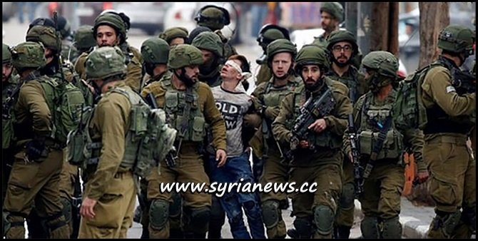 Israel IDF Terrorists Kidnap Palestinian Young Boy