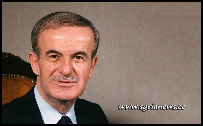 Former Syrian President Hafez Assad