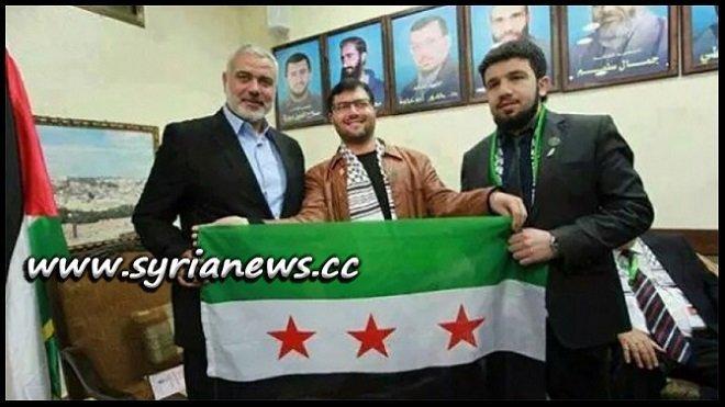 Hamas Chief Ismail Haniyeh endorsing Al-Qaeda FSA in Syria