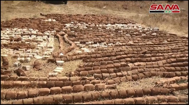 4 tons of Highly Explosive C-4 left by al-Qaeda terrorists found in South of Syria