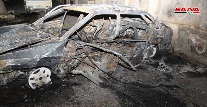 Aleppo car bombed