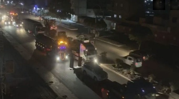 Trump forces sending convoys of gears to SDF - Qamishli
