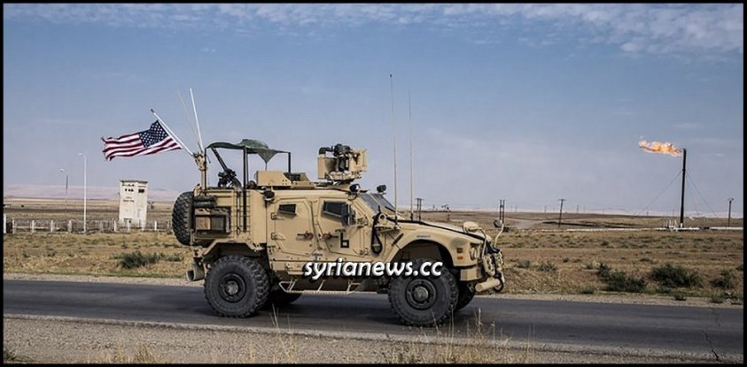US forces in northeast Syria with help of Kurdish SDF to protect Israel Stealing Syrian oil