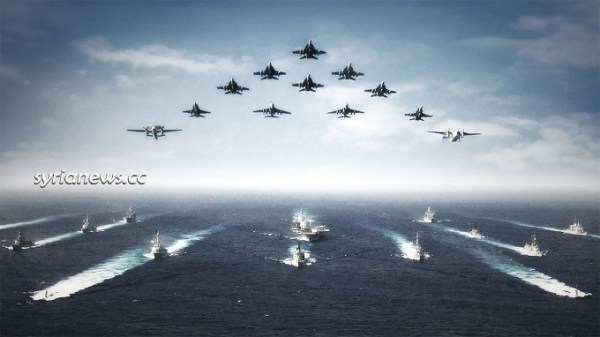 US Navy show of force - Intercontinental Wars
