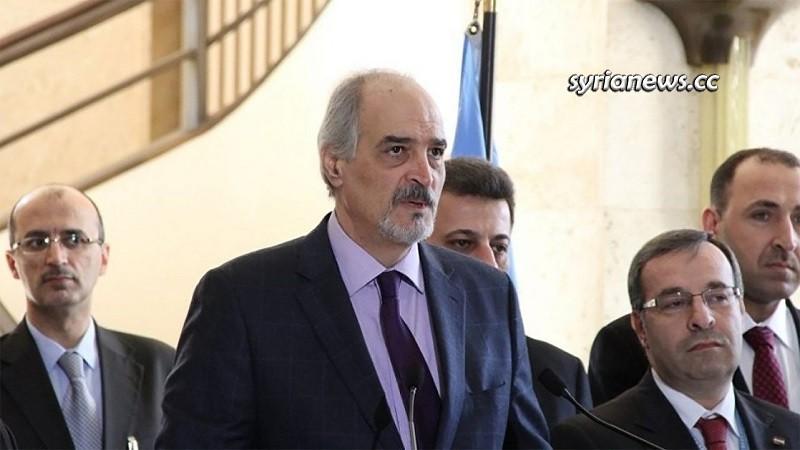 Bashar Jaafari Syria ambassador to the UN UNSC Geneva