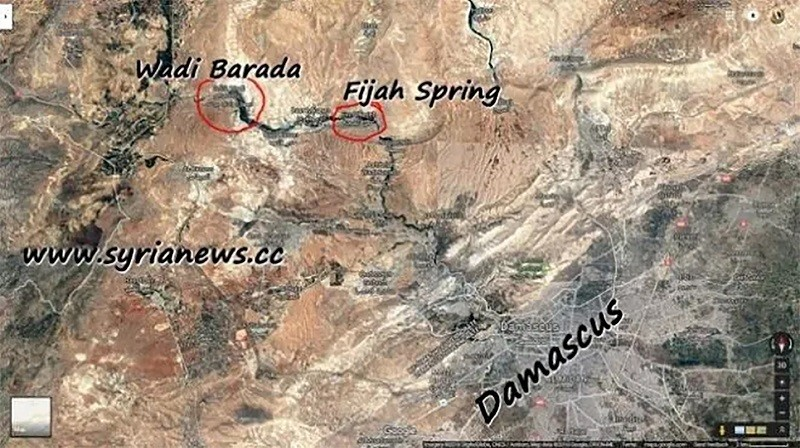 NATO Terrorists contaminate Damascus Drinking Water