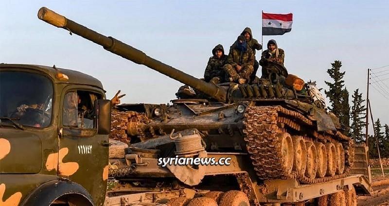 Syrian Arab Army SAA Aleppo Idlib