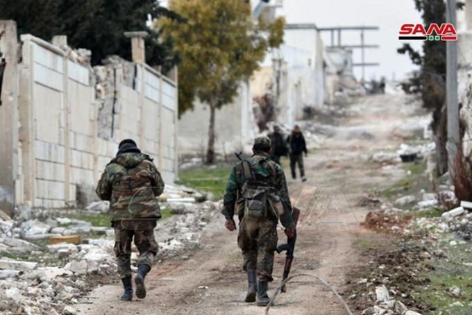 Syrian Arab Army has liberated Khan al-Asal & al Rashidin.