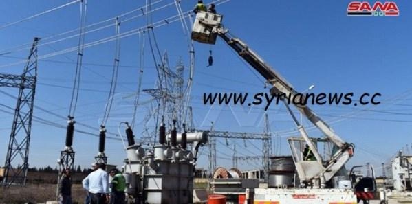 Demigod linemen return electricity to Aleppo towns. UNSC klan oblivious.