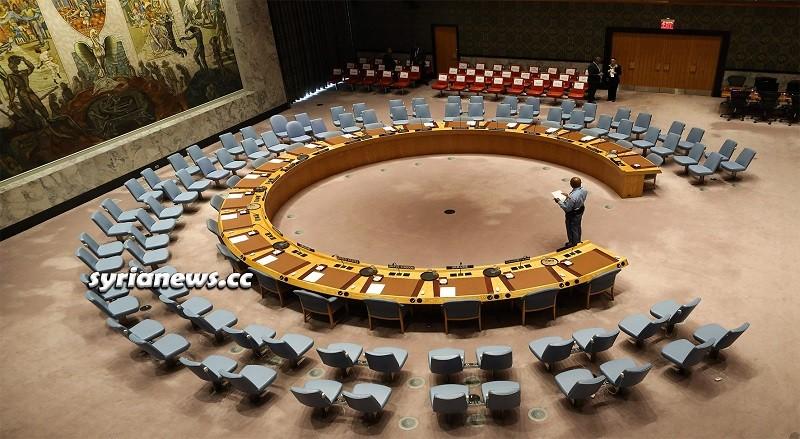 United Nations Security Council - Syria Russia China USA France Britain UK NATO مجلس الأمن الدولي
