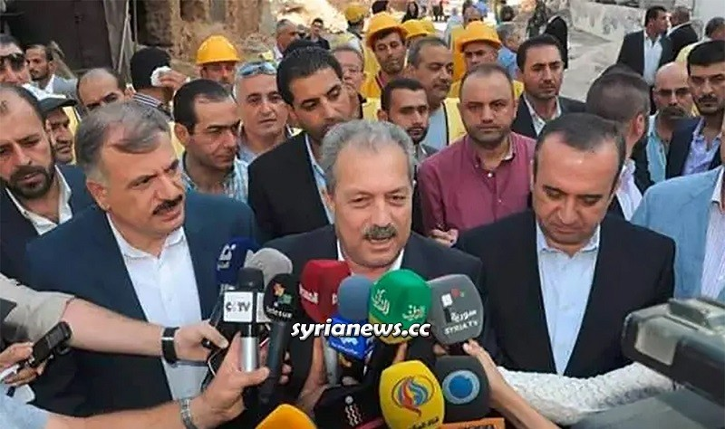 Syria Prime Minister Engineer Hussein Arnous