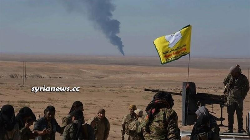Kurdish SDF separatist militia Syria