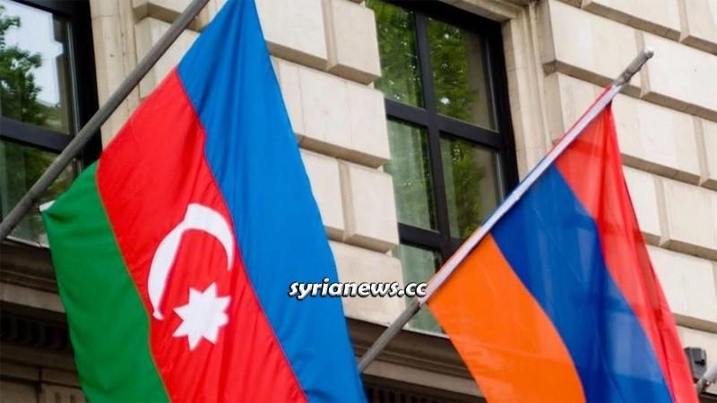 Armenia and Azerbaijan flags