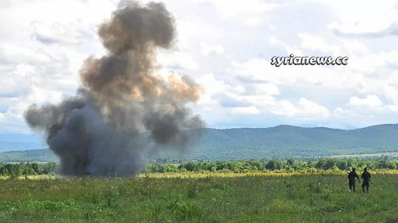 Landmine explosion - Syria - Archive