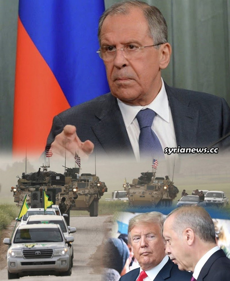 Russia Minister Lavrov warns of US and Turkish meddling in Syria
