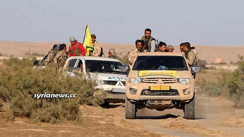 Kurdish SDF militia Syria - USA - Israel