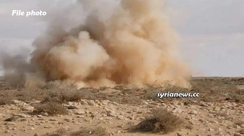 Landmine explosion - Syria