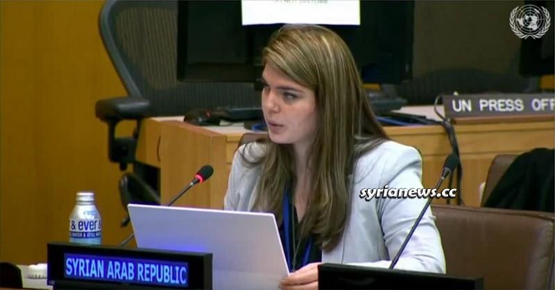 Syria 3rd Secretary at United Nations Alya Ali