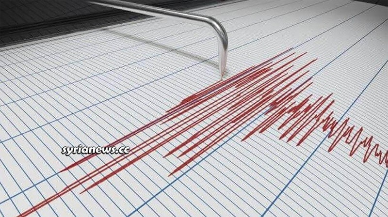 Earthquake Syria - Richter scale