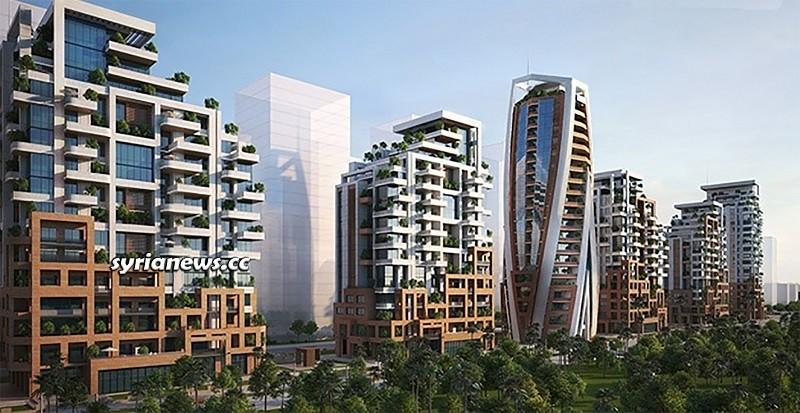Building Marota City - Damascus مشروع ماروتا سيتي - دمشق
