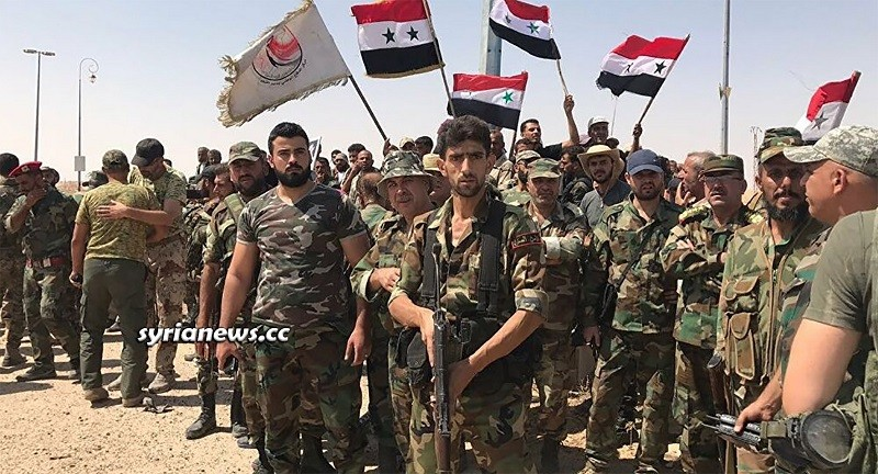 SAA Syrian Arab Army in Daraa - Archive