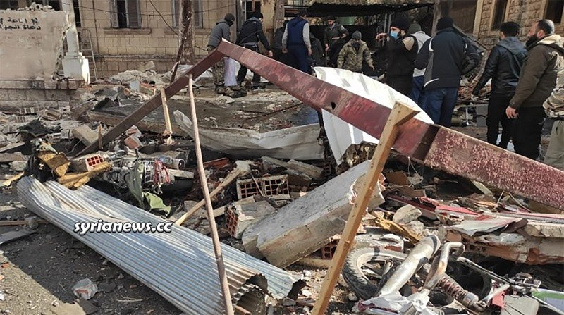 Idlib explosion in weapons shop kills one person