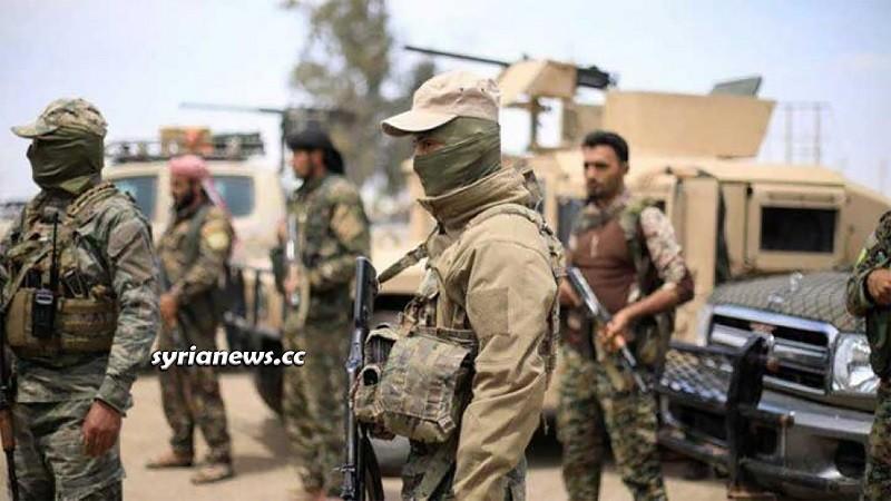 US-sponsored Kurdish SDF armed groups: Deir Ezzor, Hasakah, Raqqa, Aleppo