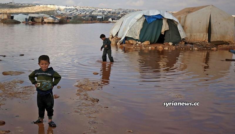 abandoned European children in Al Hol (Hawl) Concentration Camp Hasakah Syria - Kurdish SDF