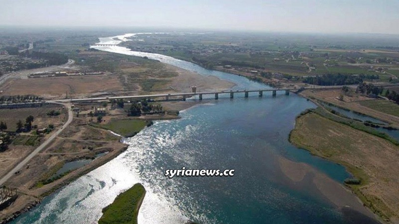Euphrates River - Syria and Iraq Water - Turkey