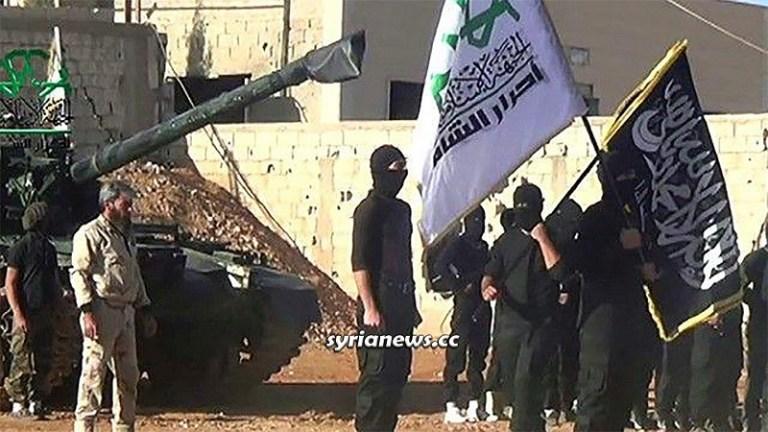 NATO terrorists in northern Syria