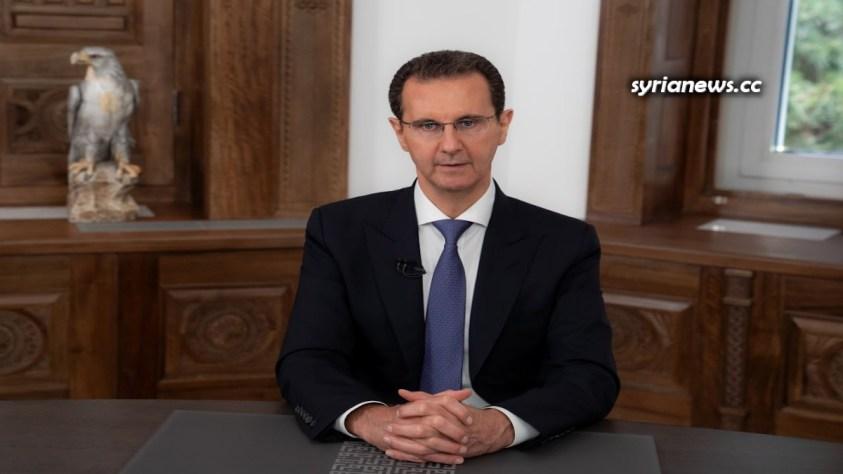 President Bashar Assad delivers election victory speech