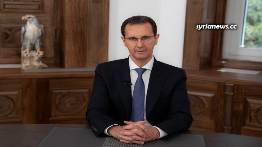 NATO imperialists can't touch  Syria's president.