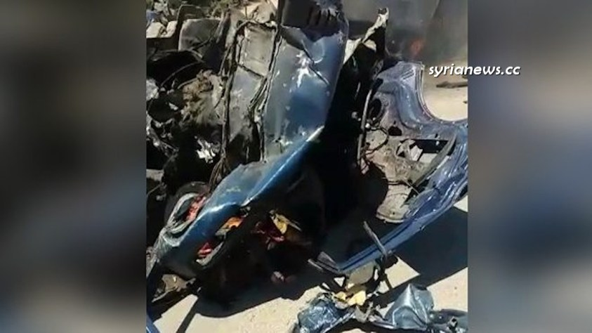 Afrin car explosion kills a young girl and 2 other civilians - NATO's terrorists