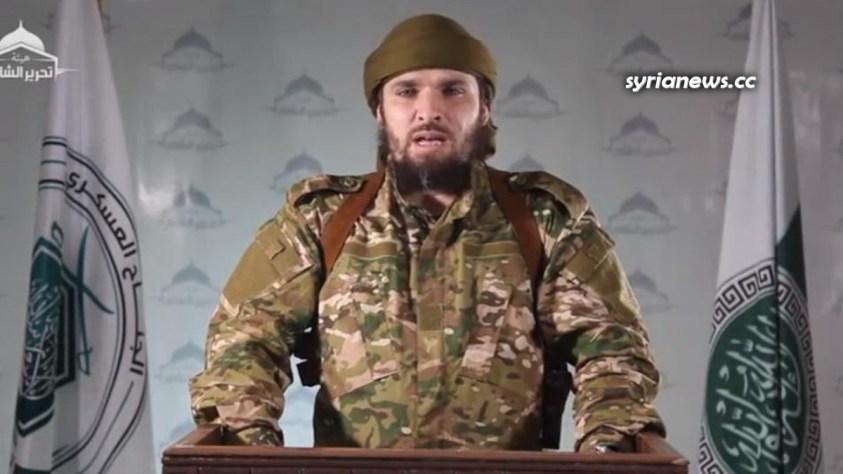 Al Qaeda Commander and Spokesperson Abu Khaled Shami (Jisreen) Killed in Ablin, Idlib