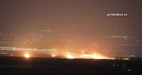 Illegal US military base for Biden forces in Al Omar Oil field in Deir Ezzor - Syria come under attack