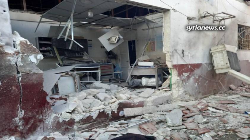 Kurdish SDF bomb Afrin