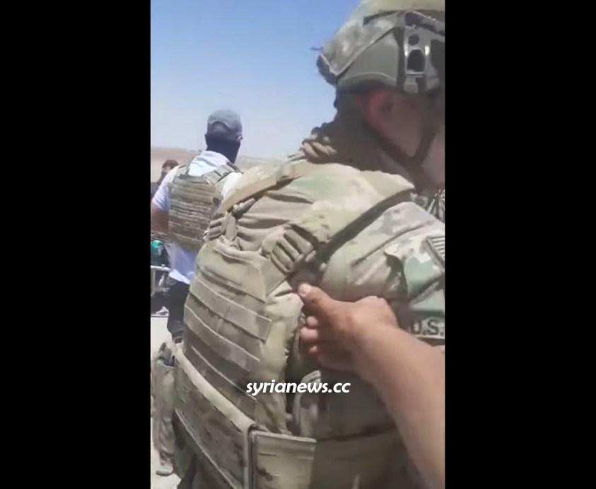 Syrians in Farfarah village kick out US oil thieves and their Kurdish SDF proxies