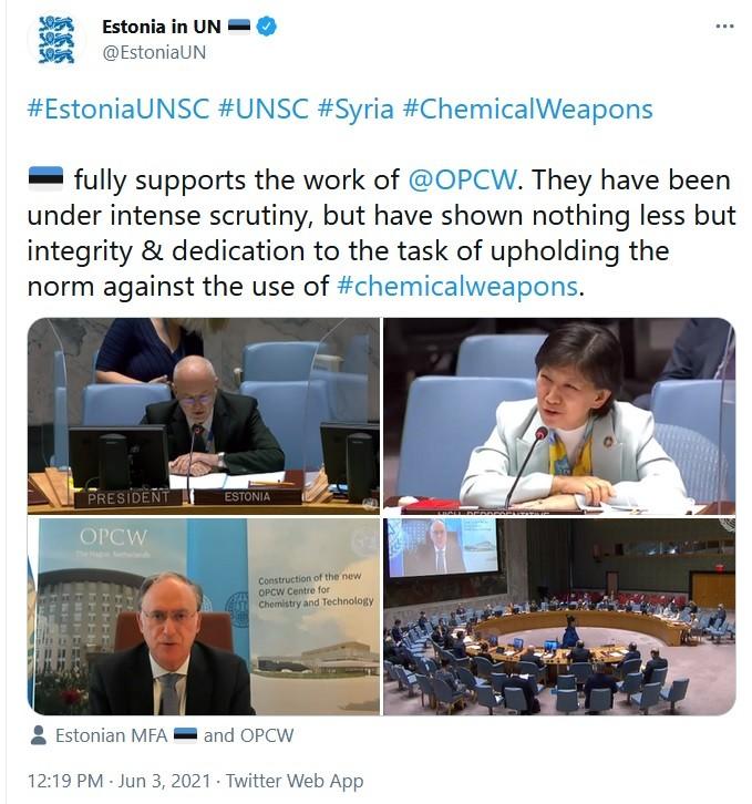 OPCW - UN criminals.